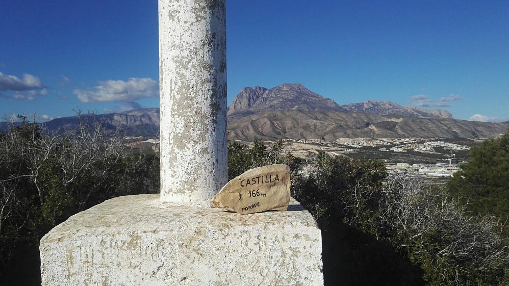 Castilla virket å være et lite besøkt høydedrag, men for en rødnål-samler som meg, en rask og liten tur.