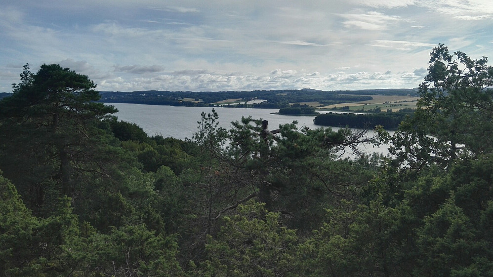 Akersvannet fra Fløyåsen.