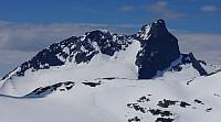 Austanbotntindmassivet sett fra øst.