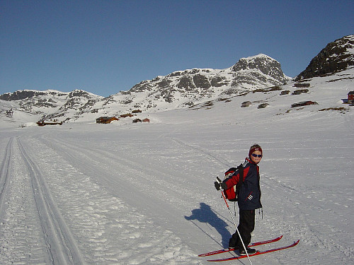 I skispor sør for Bitihorn.
