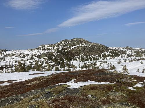 Utsikt mot Styggmann fra Honseterfjellet.