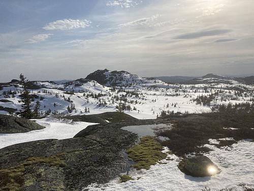 Styggmann sett østfra fra Vest for Hesteskotjernet (846)