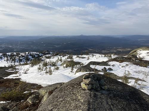 Jonsknuten ruver godt i terrenget og kan ses fra alle topper i Kongsbergområdet!