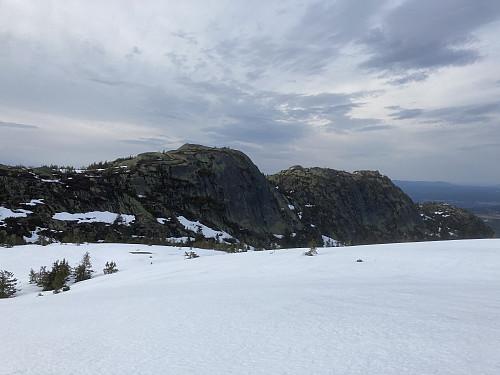 På vei mot Breidstulfjellet
