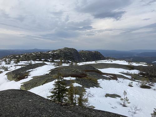 Breidstulfjellet sett fra Ulskleivknatten