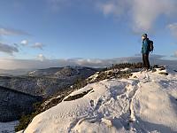 Mange topper! Dette er den østligste og fineste toppen.