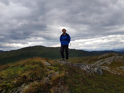 Toppen av Flatfjellet