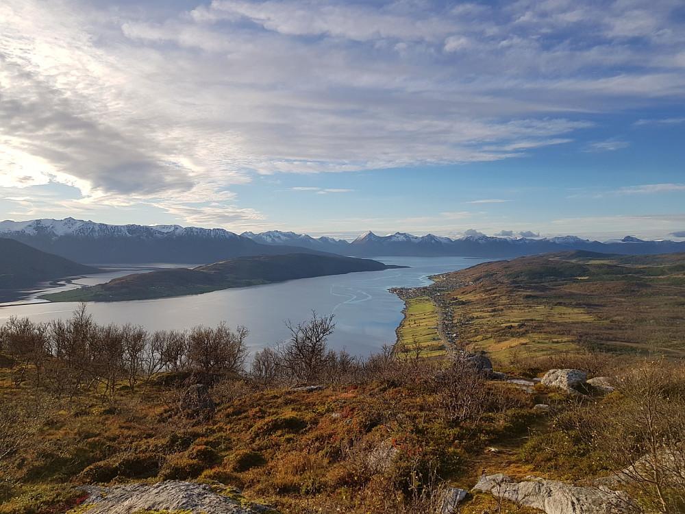 Flott utsikt fra Vikelandsfjellet