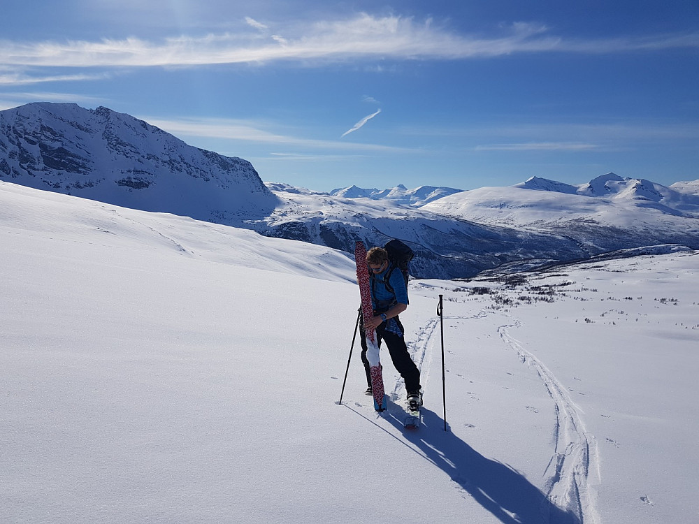 Det kladder på skiene