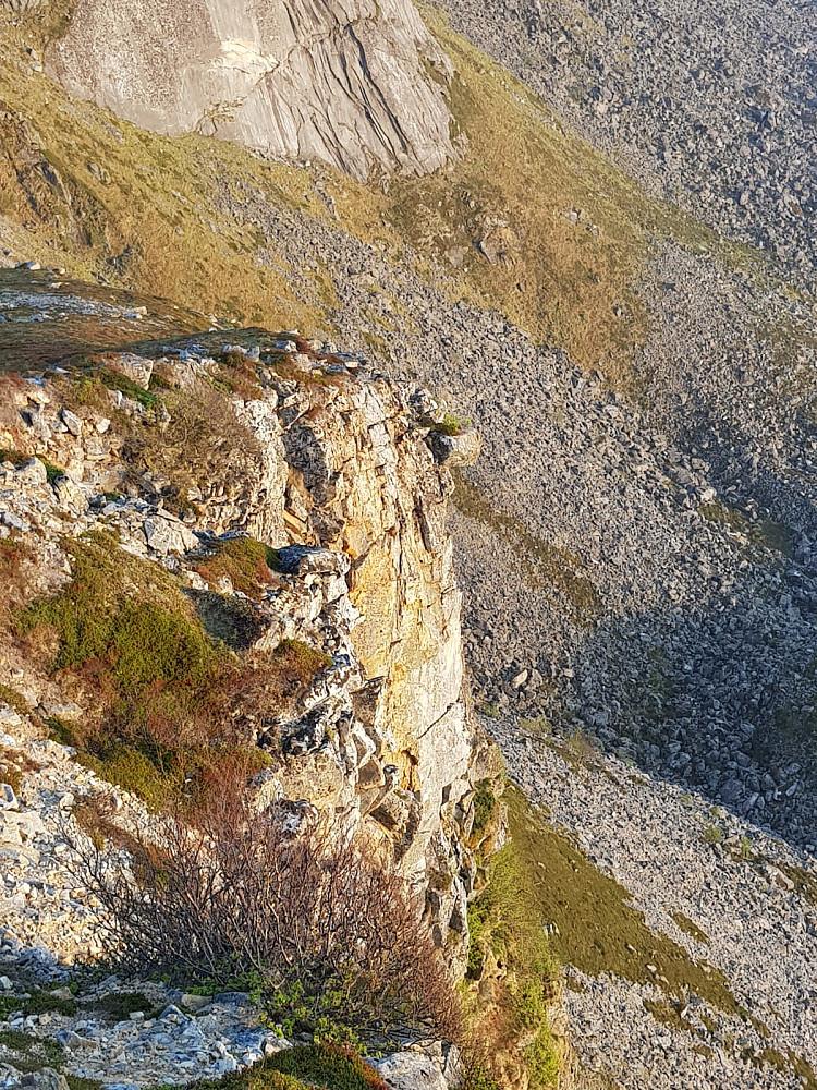 Myrland er kjent for noen artige steinformasjoner