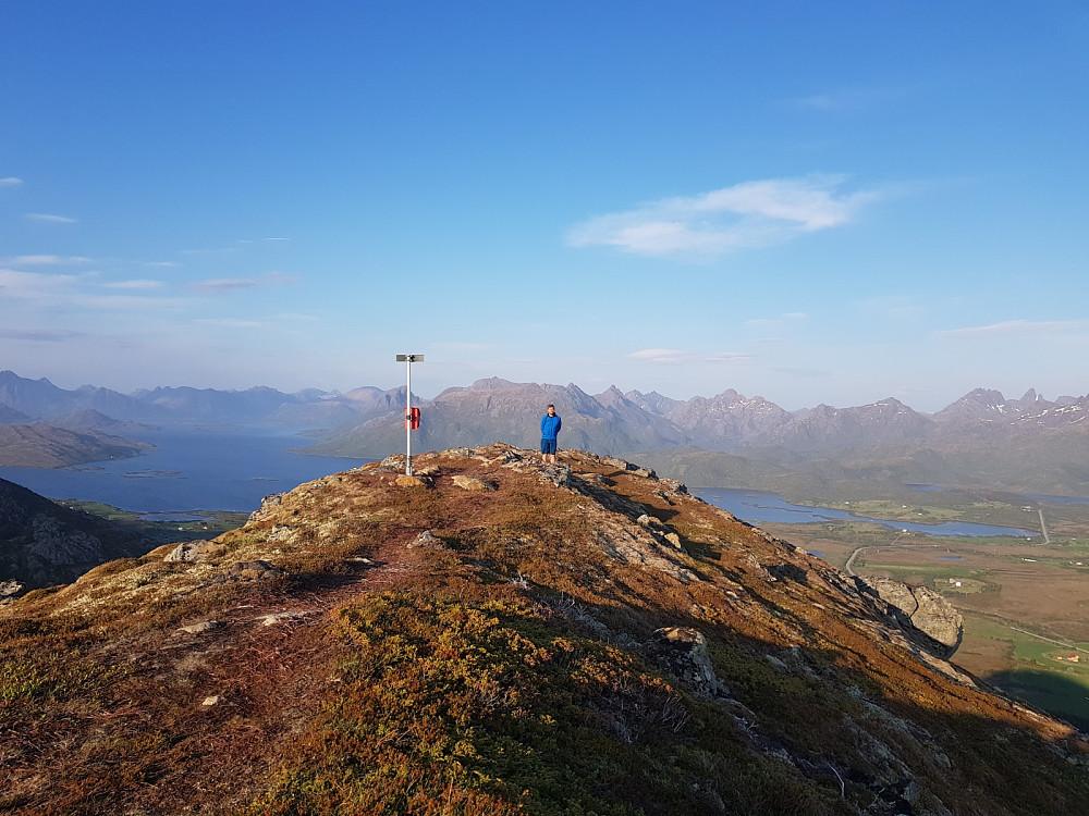 På toppen av Storskata