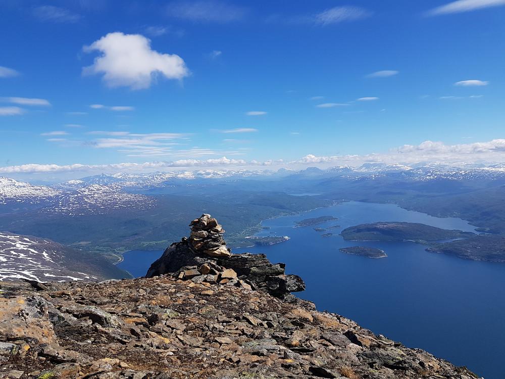 Utsikt fra Løksetinden