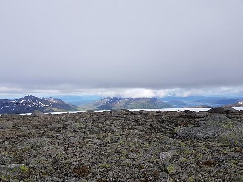 Utsikt fra Snøtinden