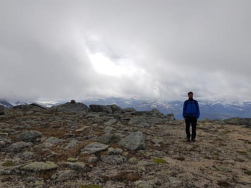 Hans Thorvald på Snøtinden