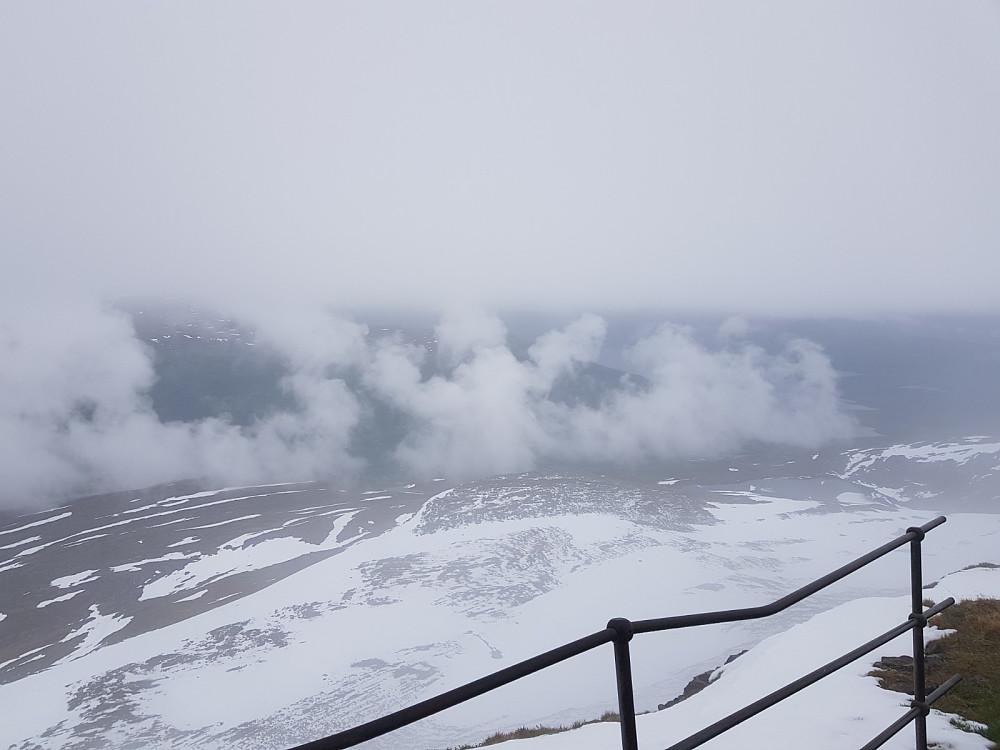 Utsikten fra Kistefjellet