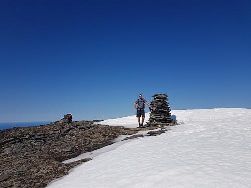 Hans Thorvald på toppen
