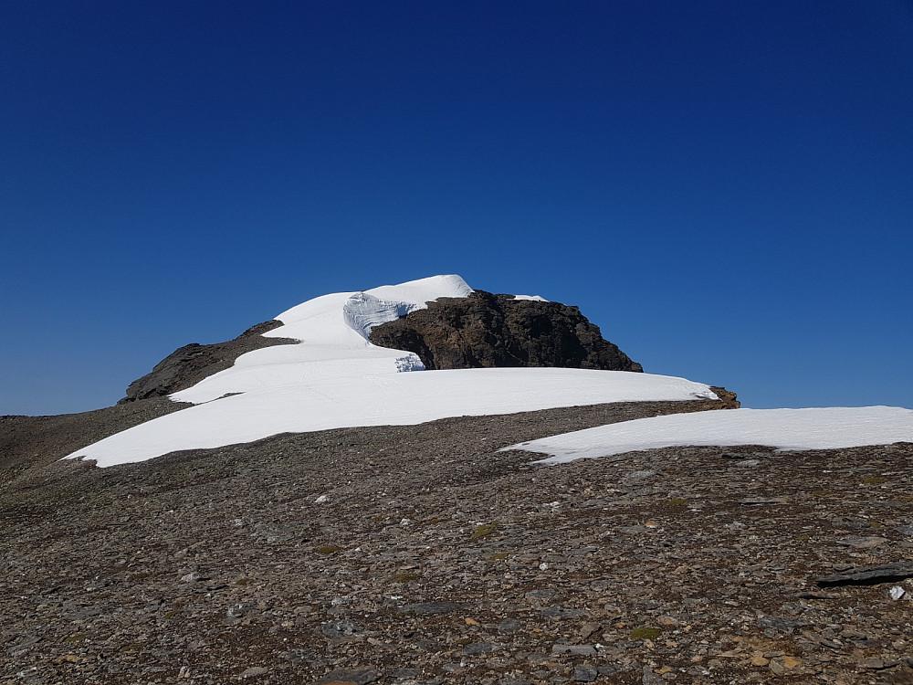 Toppunktet på Arnøyhøgda