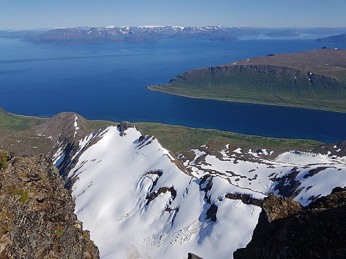 Flott utsikt fra Arnøyhøgda