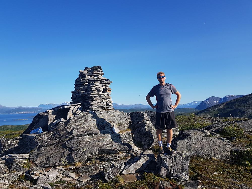 På toppen av Lailafjellet