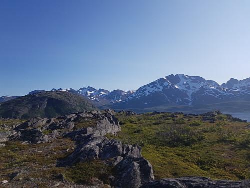 Utsikt fra Lailafjellet