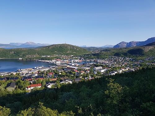 Utsikt mot Skjervøya