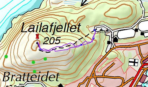 Turen til Lailafjellet