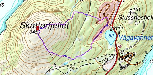Turen til Skattørfjellet
