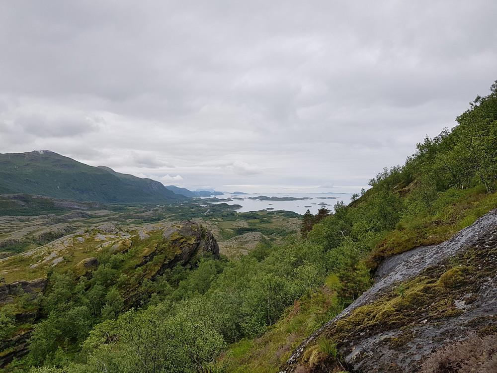 Fin utsikt i retning Bodø