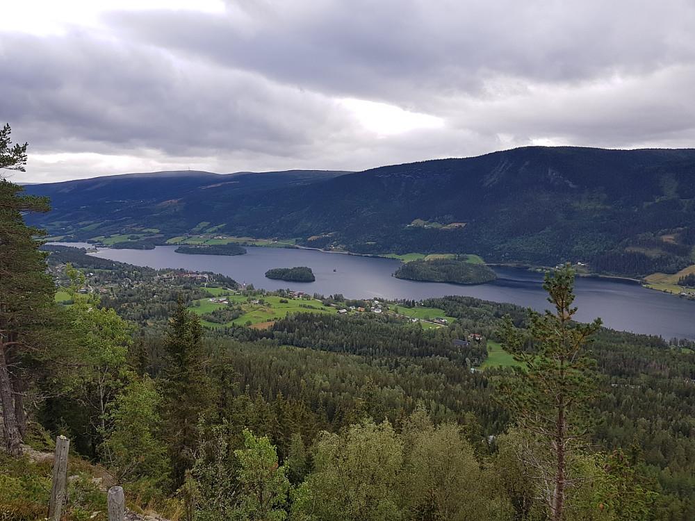 Utsikt fra Klukkargardberget
