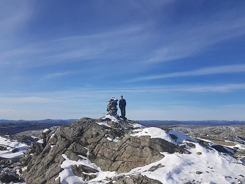 På toppen av Torfinnshorgi