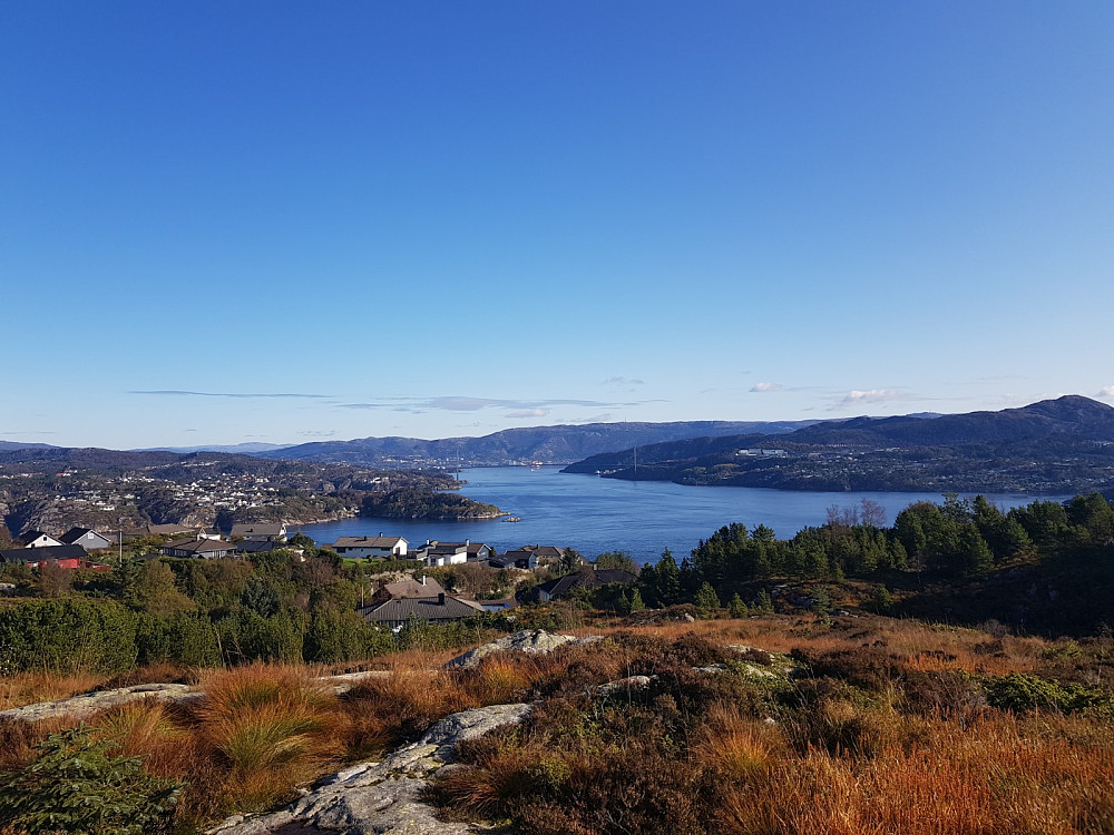 Utsikt fra turen til Botlenipa