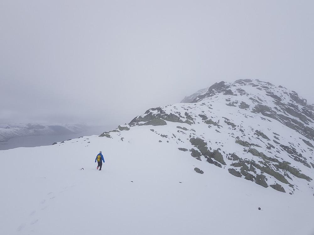 På vei mot Heimre Fagerdalshøe