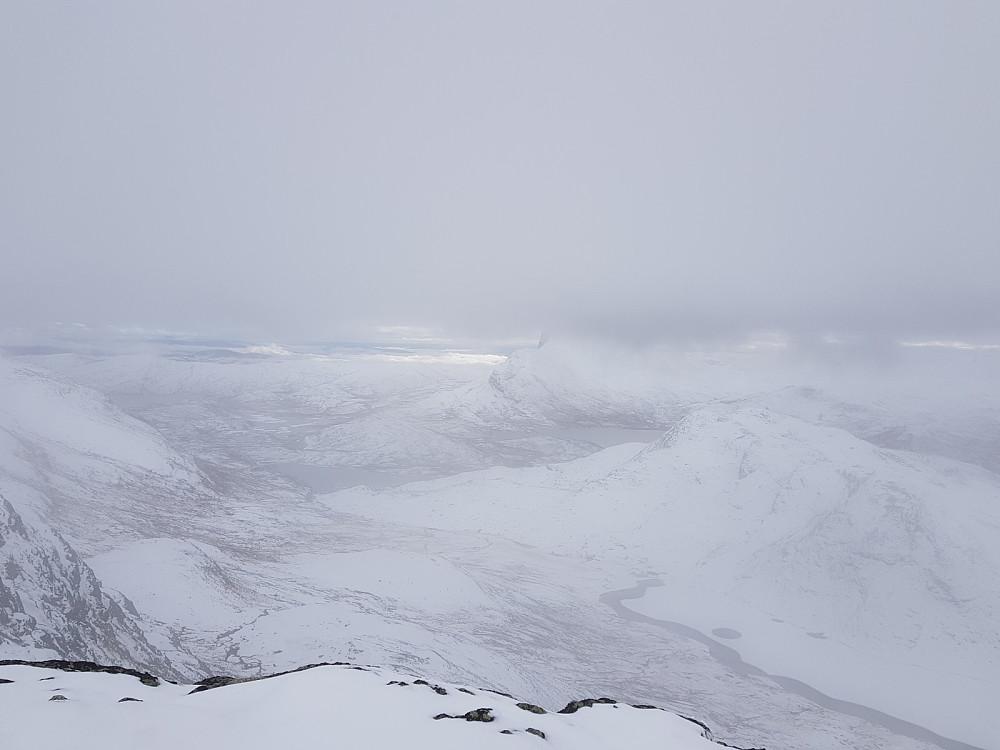 Utsikt fra Heimre Fagerdalshøe