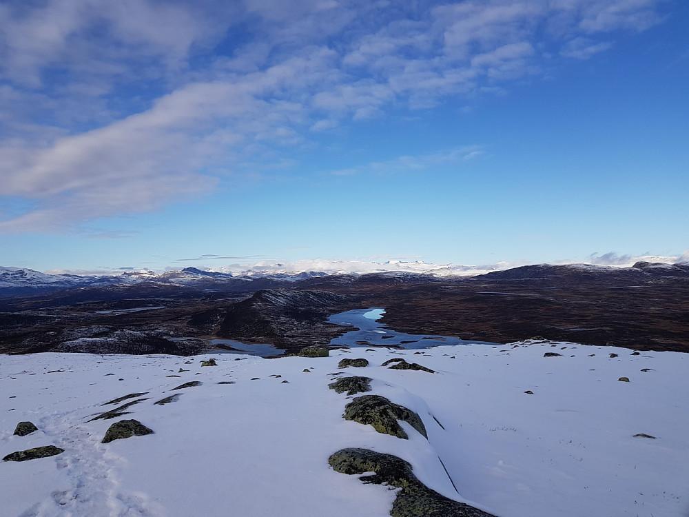 Utsikt fra Kjølafjellet