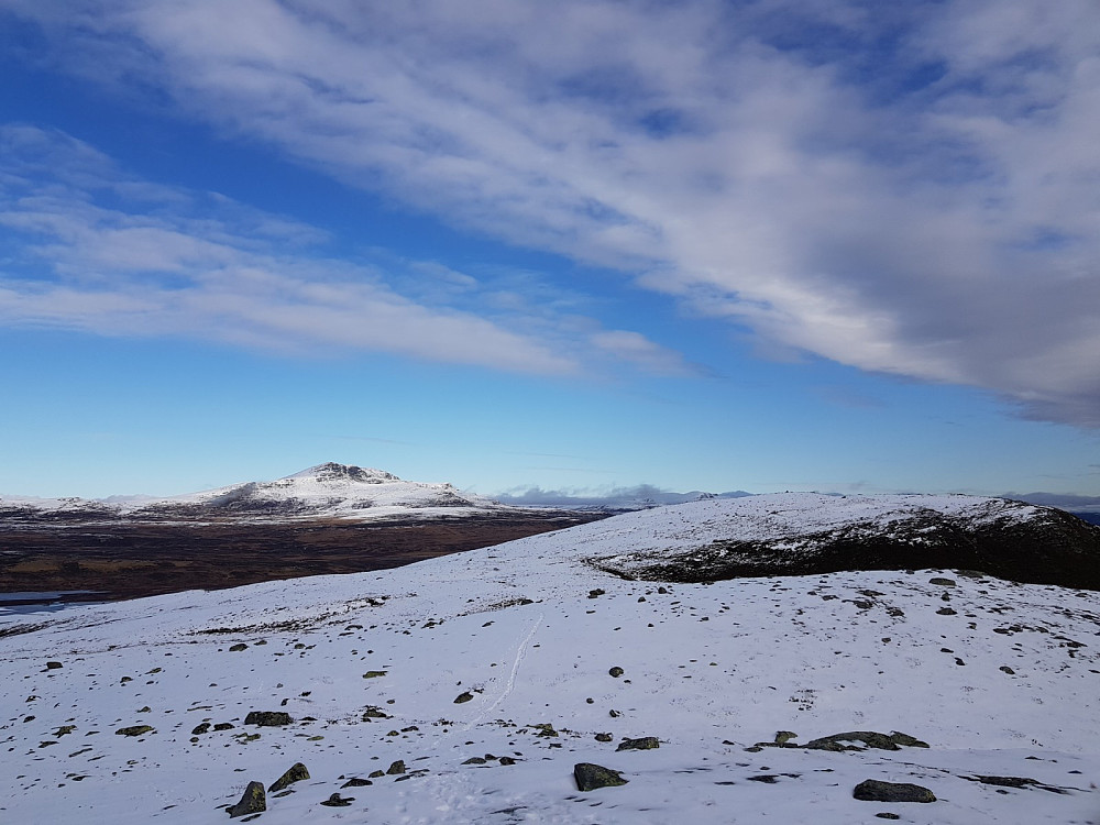Utsikt mot Skaget og Kjølafjellet