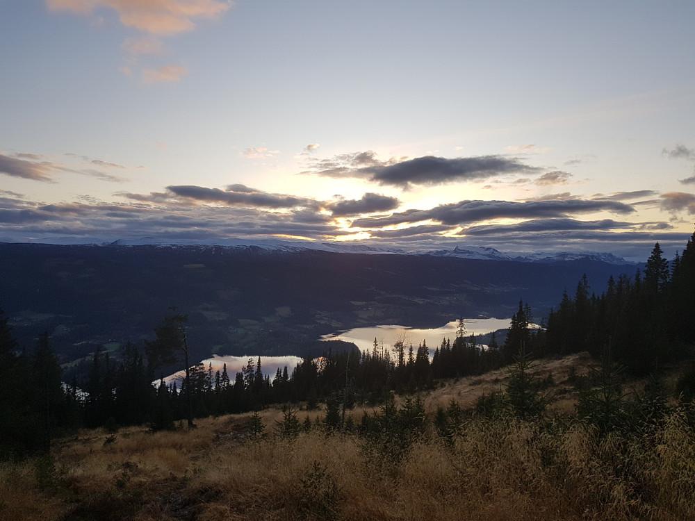 Utsikt mot Slidrefjorden