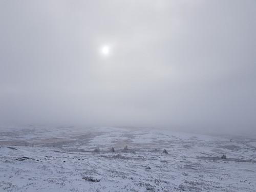 Utsikt fra toppen av Reinehamaren Sør