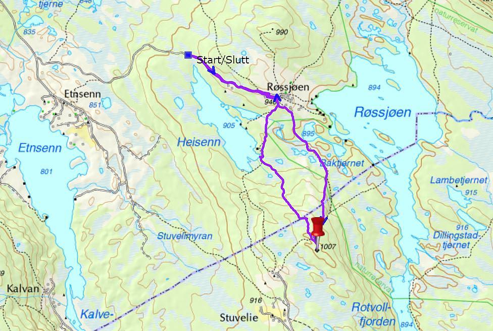 Turen til Stuvelihøgde