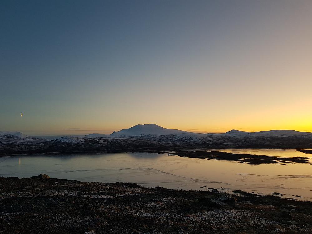 Utsikt mot Skaget fra Hundfethøa