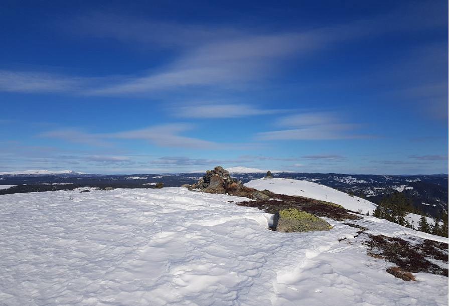 Toppen av Jutulen