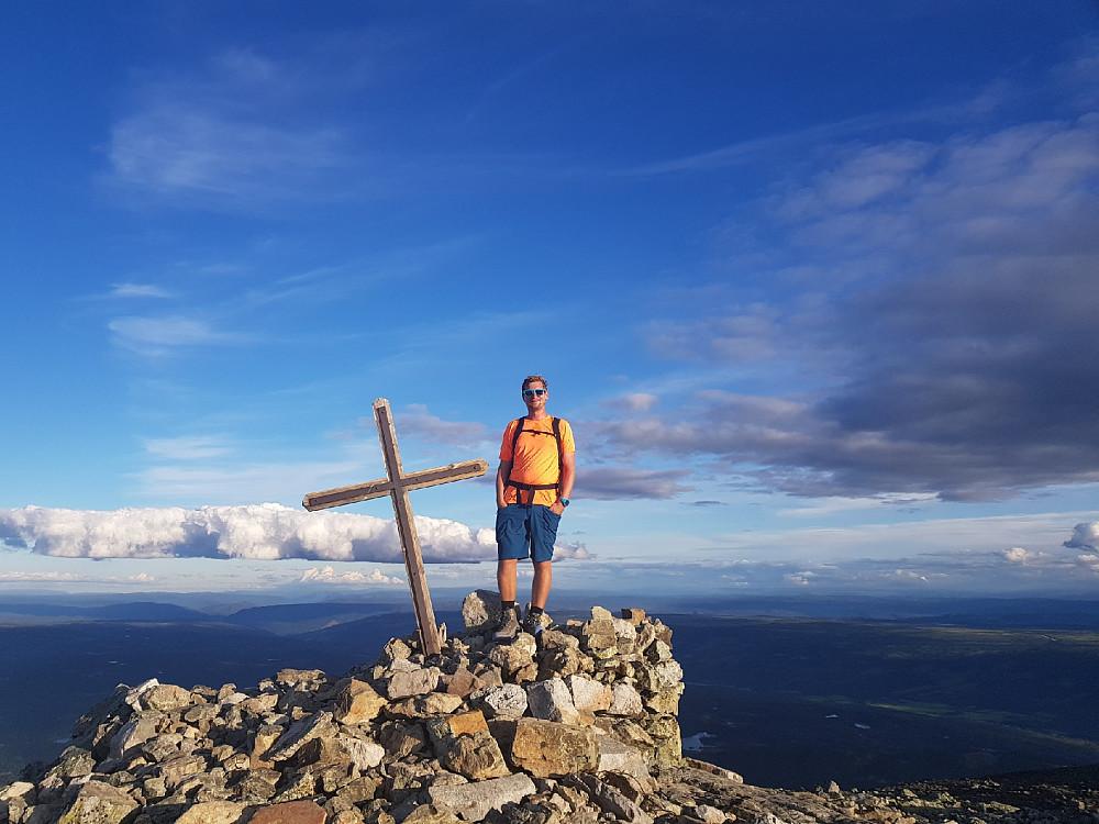 På toppen av Skogshorn