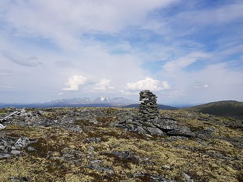 Fin utsikt på Veslfjellet