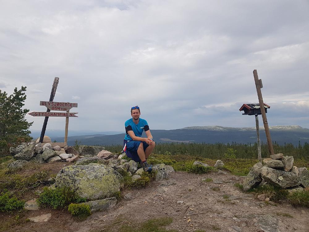 På toppen av Ulvsjøberget