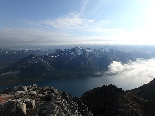 Fin utsikt fra toppen
