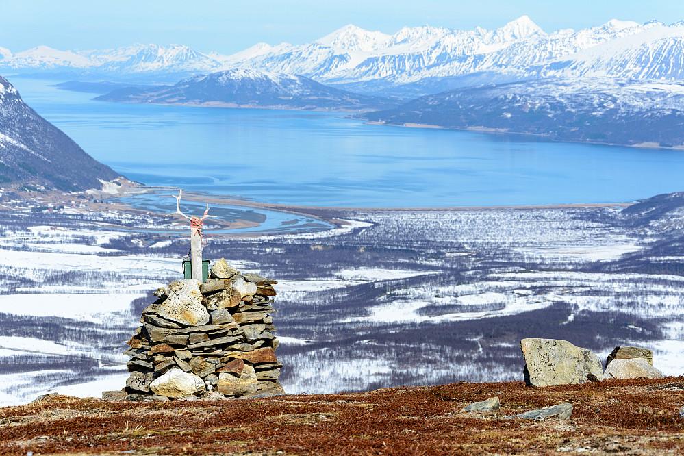 Fin utsikt mot Breivikeidet