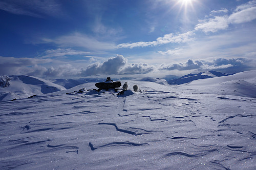Østre Raudnova 1612 moh.
