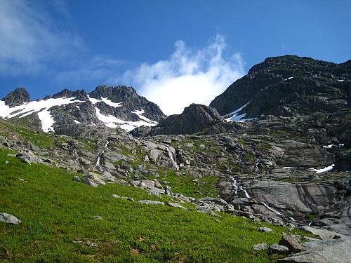 Ser toppen Geitgallien.
