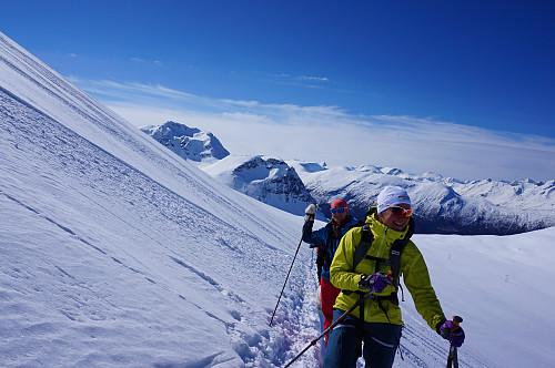 Gikk lett opp 800 meters bakken.