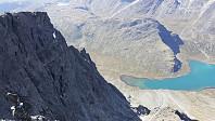 Fra toppen av Besshøe og ned mot Russvatnet