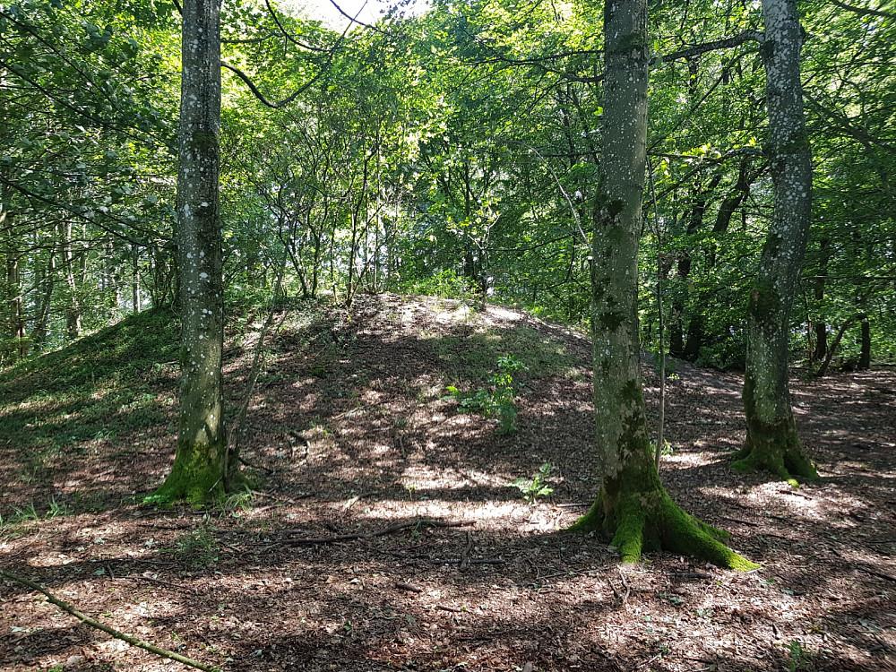 Danmarks nest høyeste naturlige terrengpunkt